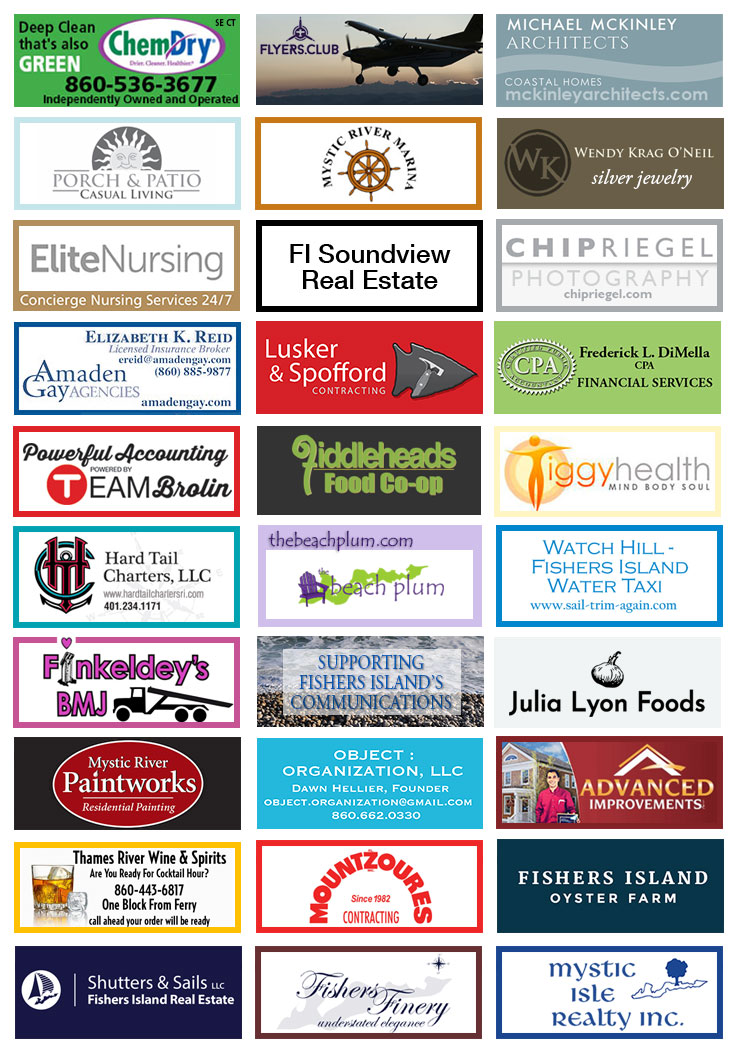 Fishers Island Advertisers
