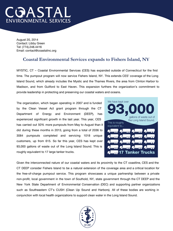 Fishers-Coastal-Environmental-Services-Pump-out_Press_Release-660x884