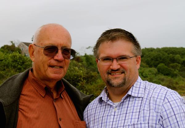 Music educators Alan Raph and Chris Dollar.