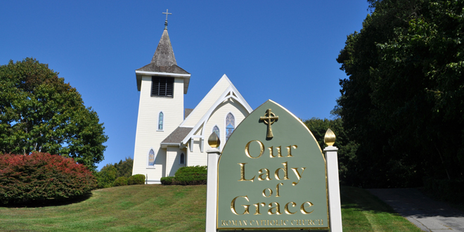 Holy Week at Our Lady of Grace Church