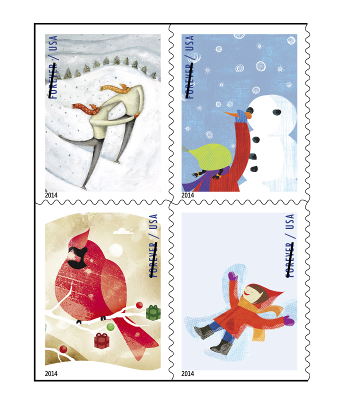 Order Christmas Stamps At FI Post Office