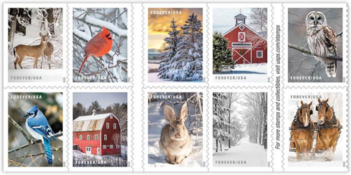 Purchase Holiday Stamps at FI Post Office