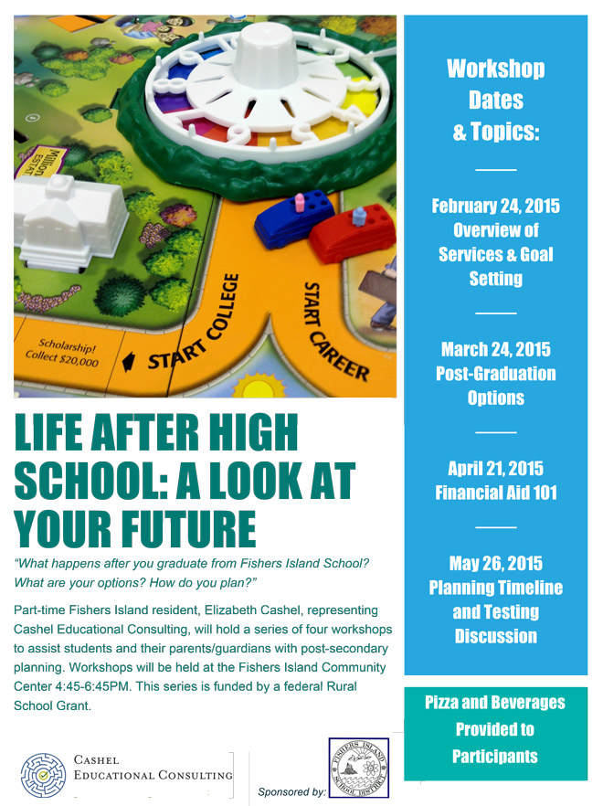 Life After High School Workshops - FishersIsland.net