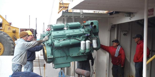 Munnatawket Engine Repair March 2015 – FishersIsland net
