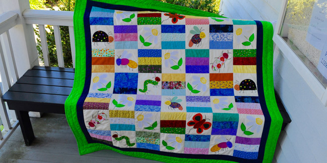 Library Raffle for Handmade Quilt
