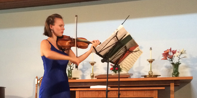 Island Concerts welcomes Violinist Tamsin Waley-Cohen
