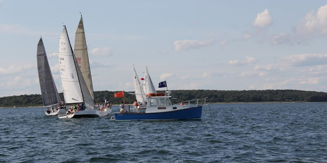 Fishers Island Junior Overnight Race 2015