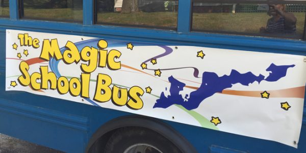 Magic School Bus Program at FI Library and Toppers