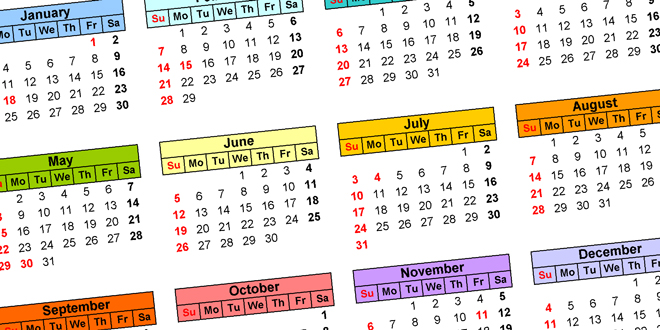FI Community Birthday Calendars are Making a Come Back in 2021