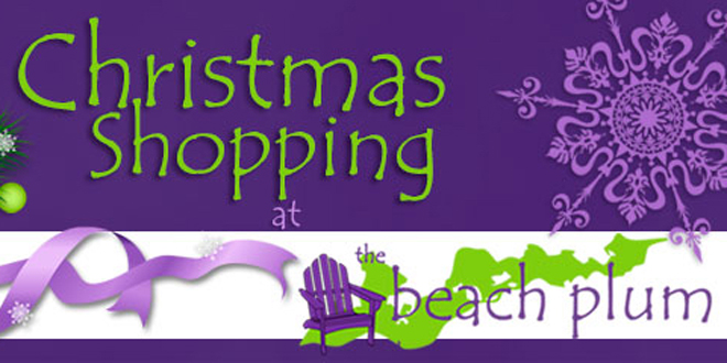 Holiday Shopping at The Beach Plum