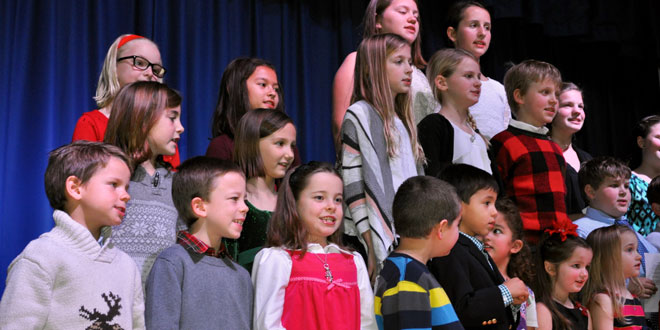 Holiday Spirit Filled the Air at the FI School Winter Concert and Art Show