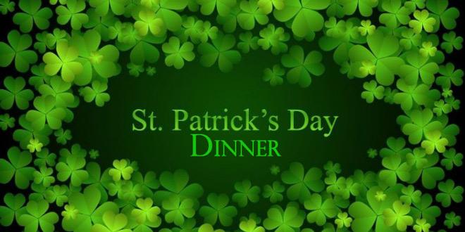 St Patrick S Day Celebration Dinner Fishersisland Net