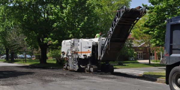 Road Paving on the West End