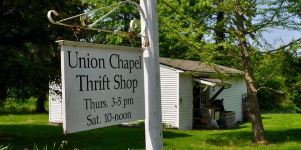 Union Chapel Thrift Shop Open