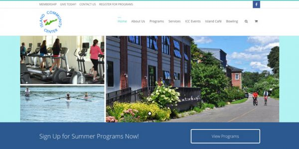 Check out the Community Center's New Website