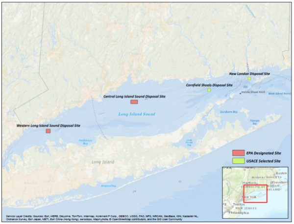 EPA Issues Final Ruling to Dump Dredge Spoils in Eastern Long Island