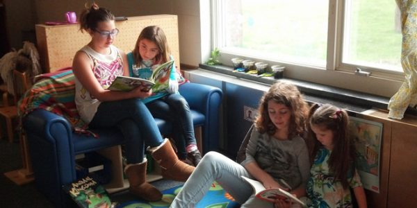 Fishers Island School Student starts Book Buddy Program for Girl Scout Silver Award