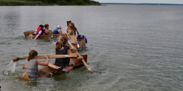 Island People's Project Cardboard Boat Regatta