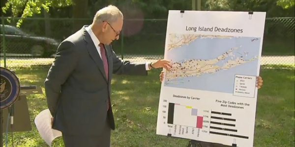 Sen. Schumer to Wireless Carriers: Improve Your Coverage on Long Island