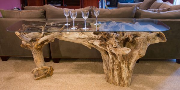 Fishers Island Driftwood Tables
