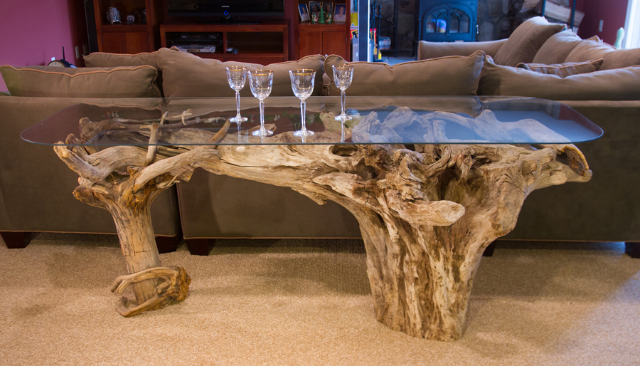 One Of A Kind Fishers Island Driftwood Tables