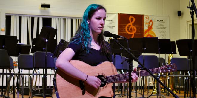 Student Soloist Emma Cypherd