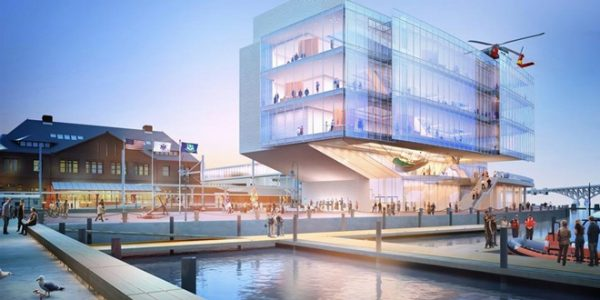 Latest architectural designs for Coast Guard Museum unveiled
