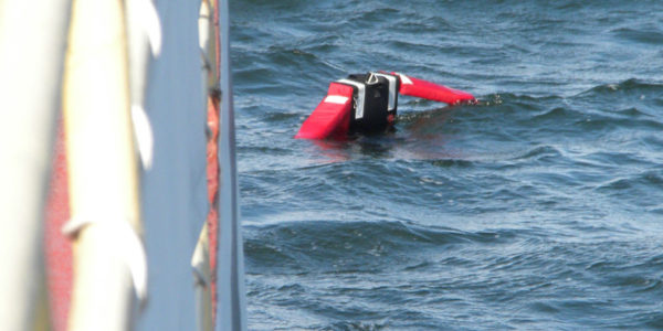 Man Overboard Drill on the Munnatawket