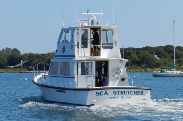 Supporting the Sea Stretcher during the Holidays