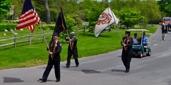 Fishers Island Celebrates Memorial Day 2017 with Remembrances