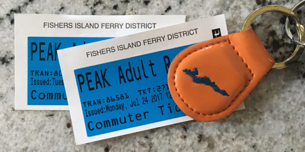 Ferry District to reintroduce 2-way Passenger Tickets