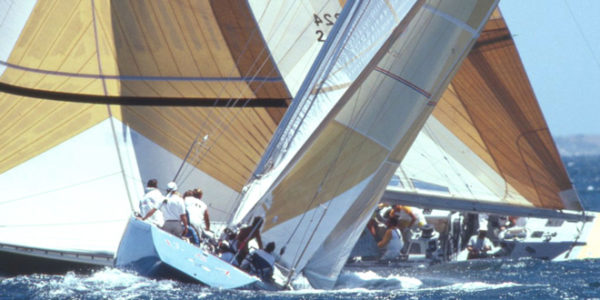 Fishers Beats America II's Own Crew in 12 Meter Cup Battle