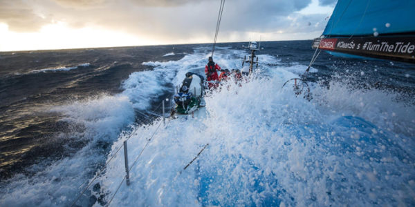 "Skipper Enright & Vestas 11th Hour Racing in ""Trip around the Planet"""