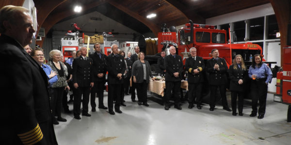 Fire Department Enters 91st Year at Annual Installation