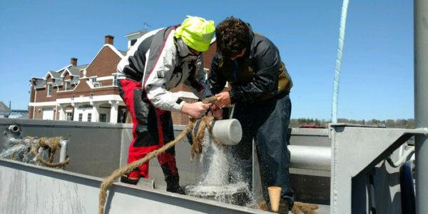 FI Ferry conducts Shipboard Damage Control Training