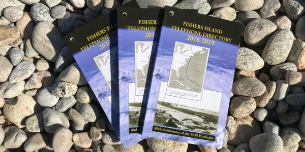 2018-2019 Fishers Island Phonebooks