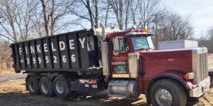 Finkeldey's Roll-off Dumpster