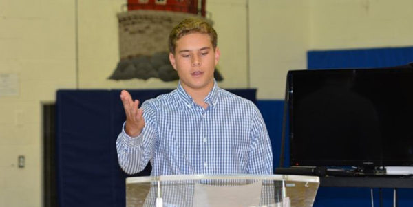 Fishers Island School's Morrissey selected as Senate Page