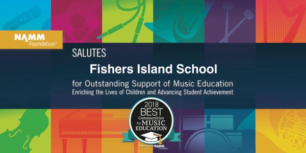 Fishers Island School: Best Communities for Music Education Award Winner
