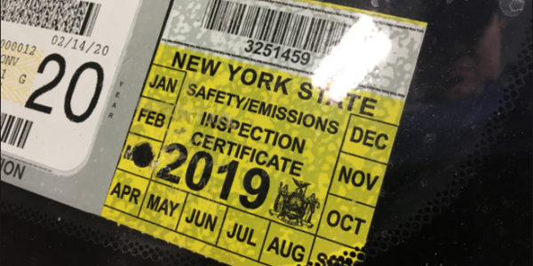 NY State Police Reminder re: Vehicle Requirements