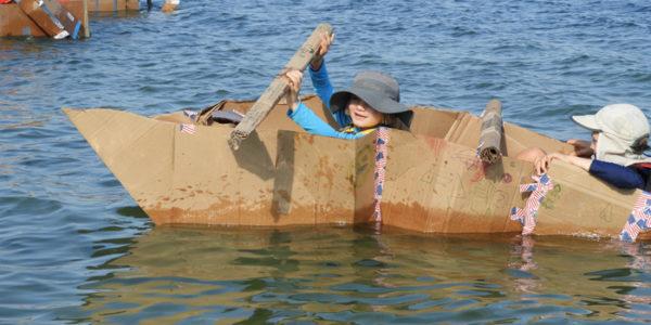 IPP's 2018 Cardboard Boat Regatta