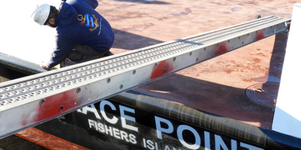 Fishers Island Ferry Shipyard Update: Race Point & Munnatawket