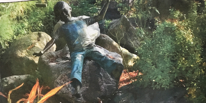 MISSING: Bronze Statue of Young Boy is FOUND