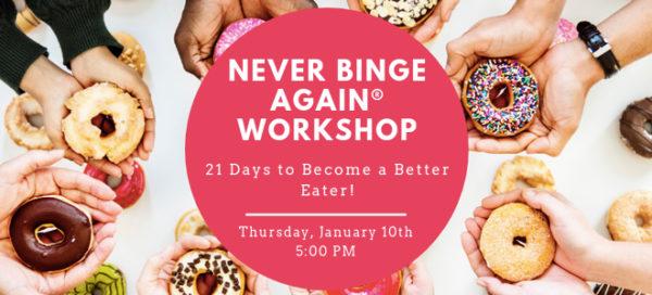 FICC Offers: Never Binge Again® Workshop