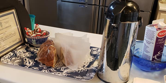 FICC offers Fresh Coffee and Baked Goods
