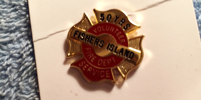 Firefighter Faulkner Honored for 50 Years Service