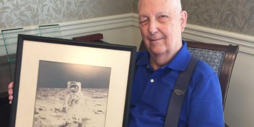 Mystic retiree helped to make moon walk possible