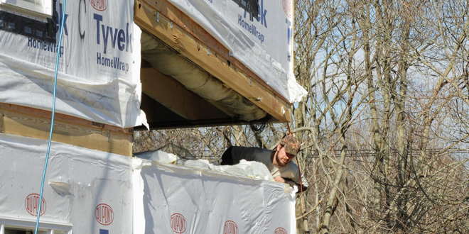 Utility Company builds Employee Housing on newly zoned Briar Patch