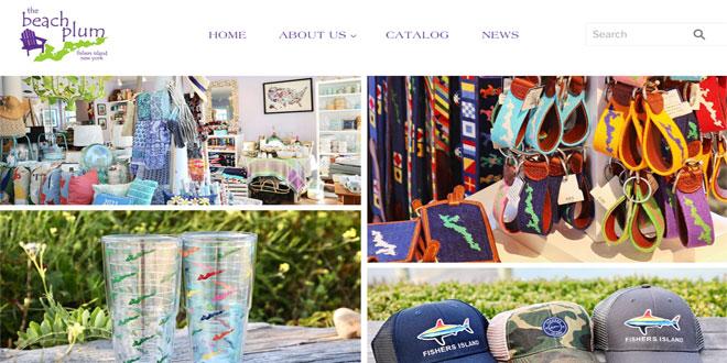 The Beach Plum's New Website & More