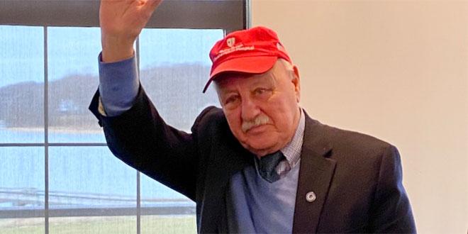 Senator Ken LaValle says Farewell